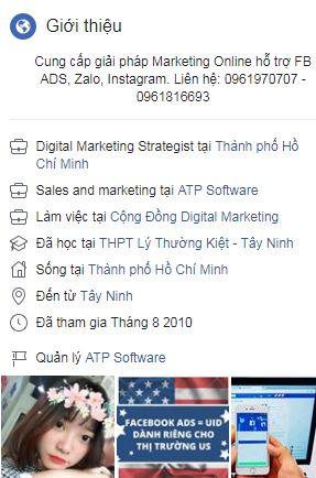 ảnh quỳnh anh - Case study Facebook Marketing 0đ - 7 hướng xây dựng kênh profile facebook hiệu quả