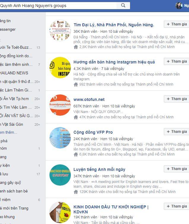 group - Case study Facebook Marketing 0đ - 7 hướng xây dựng kênh profile facebook hiệu quả