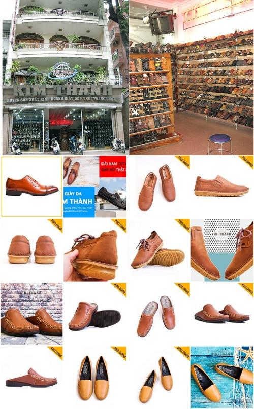 thương hiệu giày nam nỗi tiếng việt nam