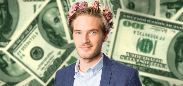 pewdiepie - Hướng dẫn kiếm tiền online dễ dàng nhất 2018