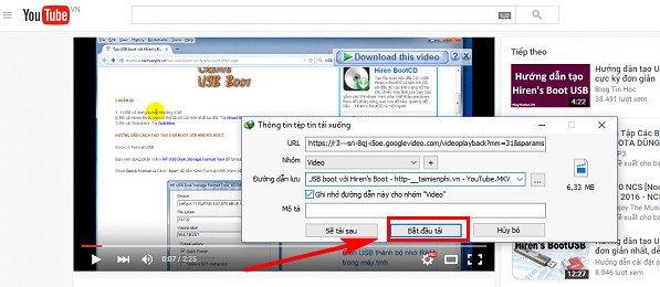 Sforum - Trang thông tin công nghệ mới nhất tai-video-youtube-bang-idm-3 5 cách download video trên Youtube nhanh chóng, đơn giản nhất