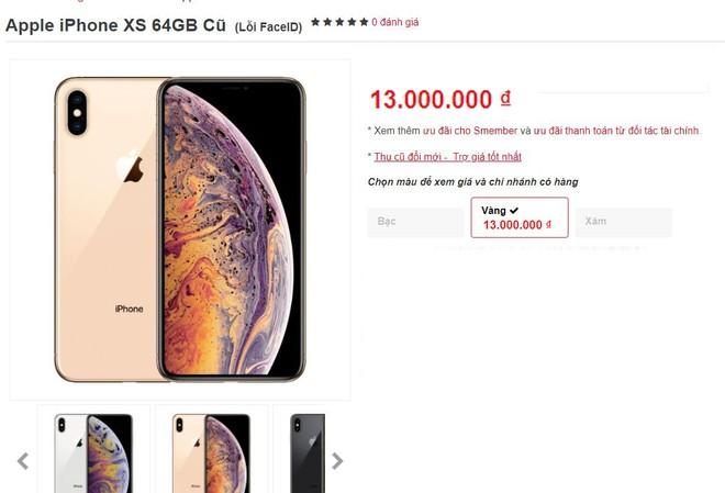 iPhone XS, XS Max mat Face ID tran ve Viet Nam, gia tu 13 trieu hinh anh 1