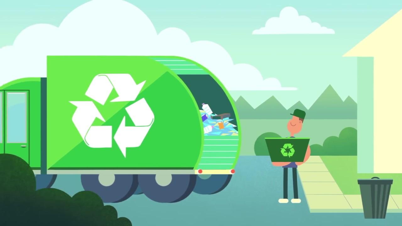 Quy trình tái chế giấy - YouTube