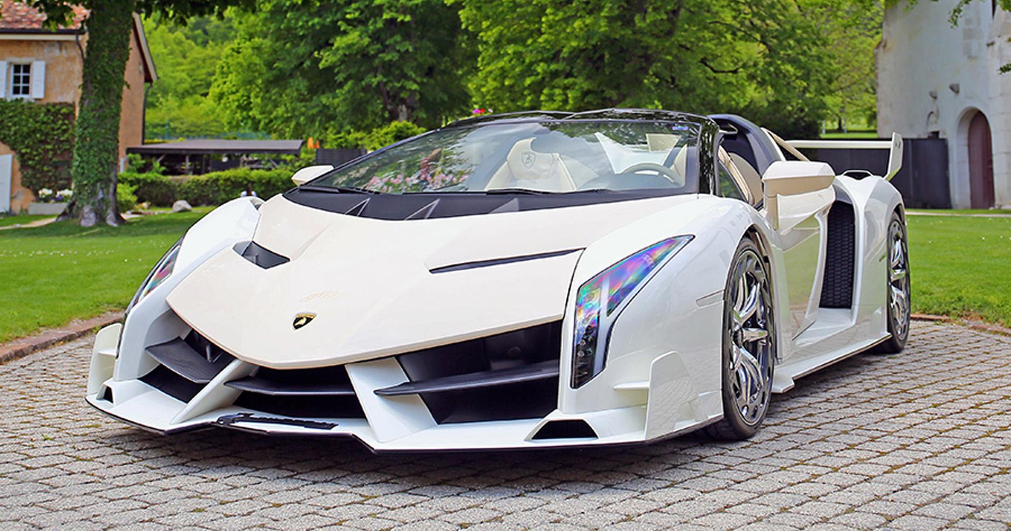 Lamborghini Veneno Roadster được đấu giá gần 8,4 triệu USD