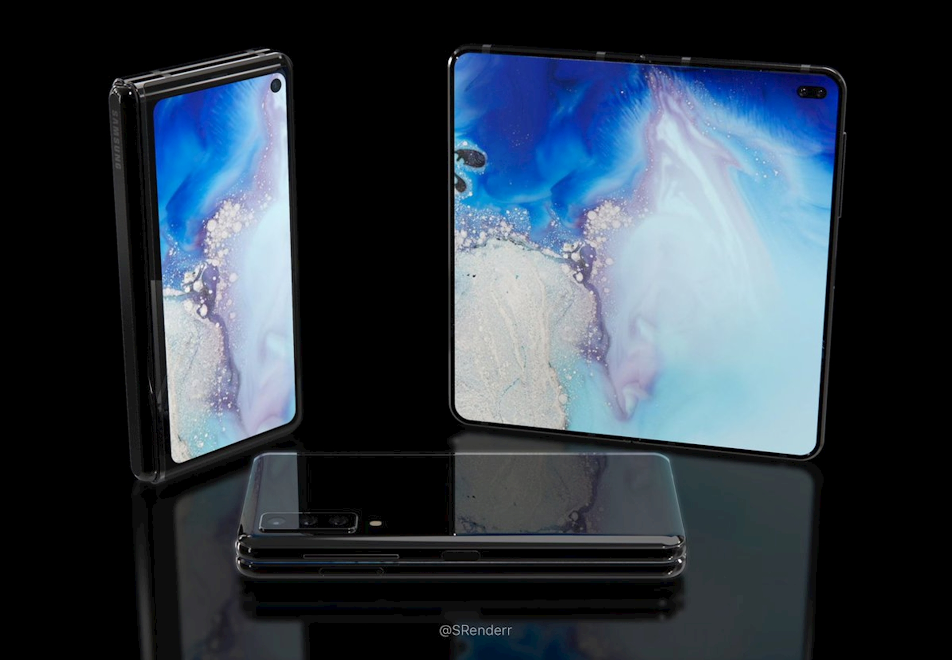 Bất ngờ với concept Samsung Fold 2 dù Galaxy Fold chưa đến tay ...