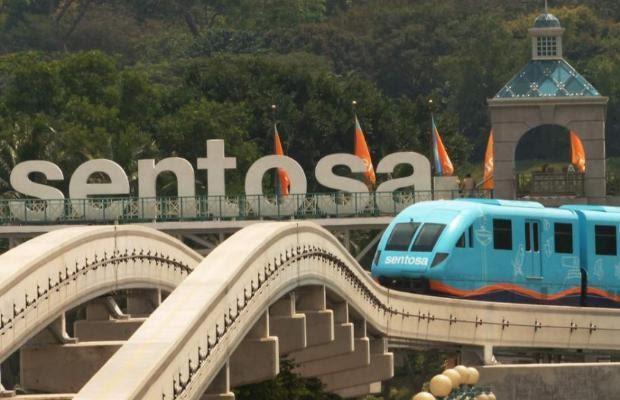 Sentosa là một điểm đến không thể bỏ lỡ trong chuyến du lịch Singapore. Ảnh: Internet