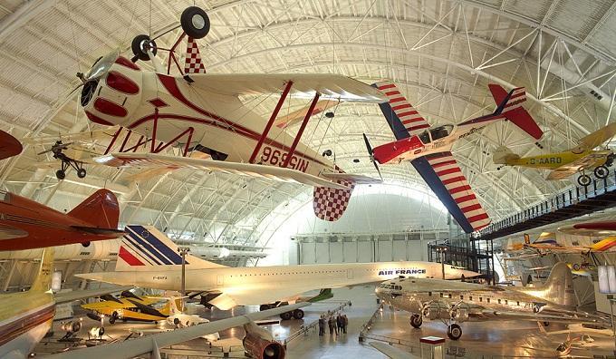 Bảo tàng Hàng không ở Washington DC (nguồn Internet)