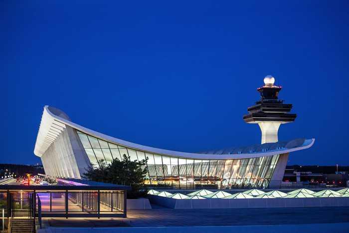 Sân bay quốc tế Dulles (nguồn Internet)