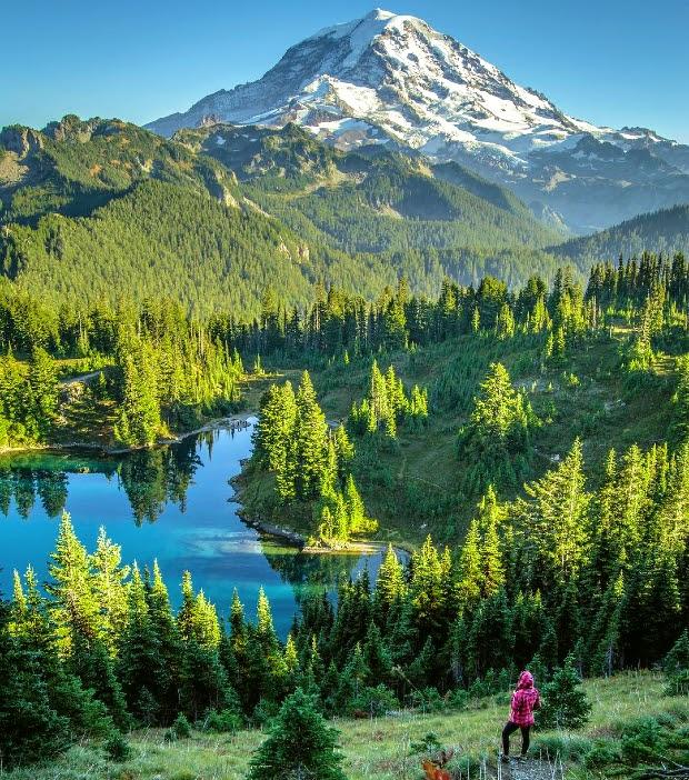 Mùa hè là thời điểm lý tưởng đến khám phá thiên nhiên hùng vĩ ở Seattle
