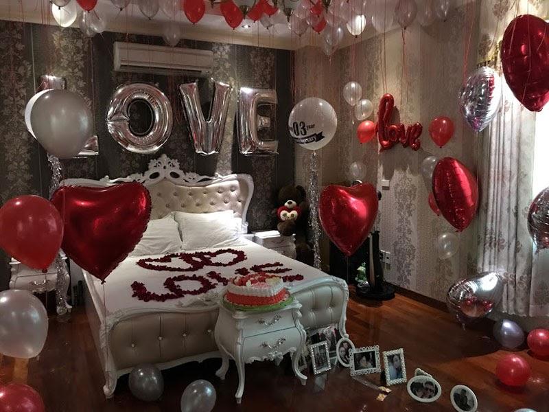 Ý tưởng trang trí sinh nhật trong phòng ngủ
