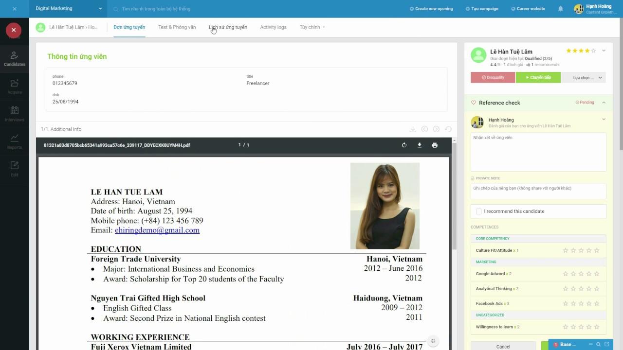 Công nghệ ATS Base E-hiring giúp nâng cao hiệu quả tuyển dụng như thế nào?  - Base Resources