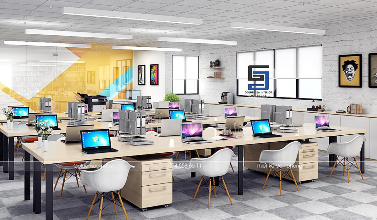 Thiết kế Văn phòng Sáng tạo - Goldensea Interior