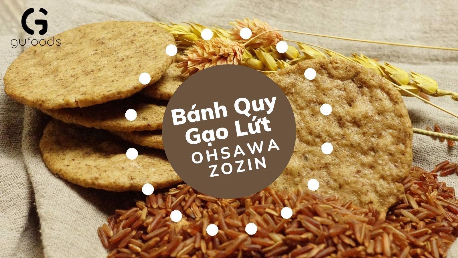 bánh quy gạo lứt ăn kiêng giảm cân