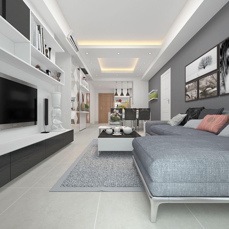 BỘ SƯU TẬP MẪU SƠN TƯỜNG NHÀ MÀU TRẮNG XÁM HIỆN ĐẠI?   Home fashion, Nhà  cửa, House