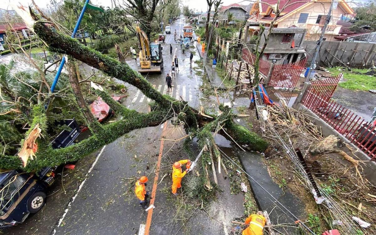 Siêu bão Goni tại Philippines: Ít nhất 4 người thiệt mạng, 31 triệu người  bị ảnh hưởng - Báo Khánh Hòa điện tử